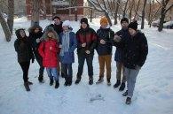 Омские студенческие отряды очистят город от снега