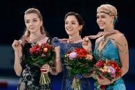 Российские фигуристки заняли весь пьедестал почёта на Чемпионате Европы в Братиславе